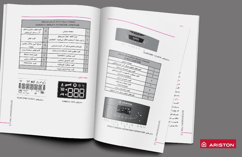 دفترچه راهنمای مصرف کننده